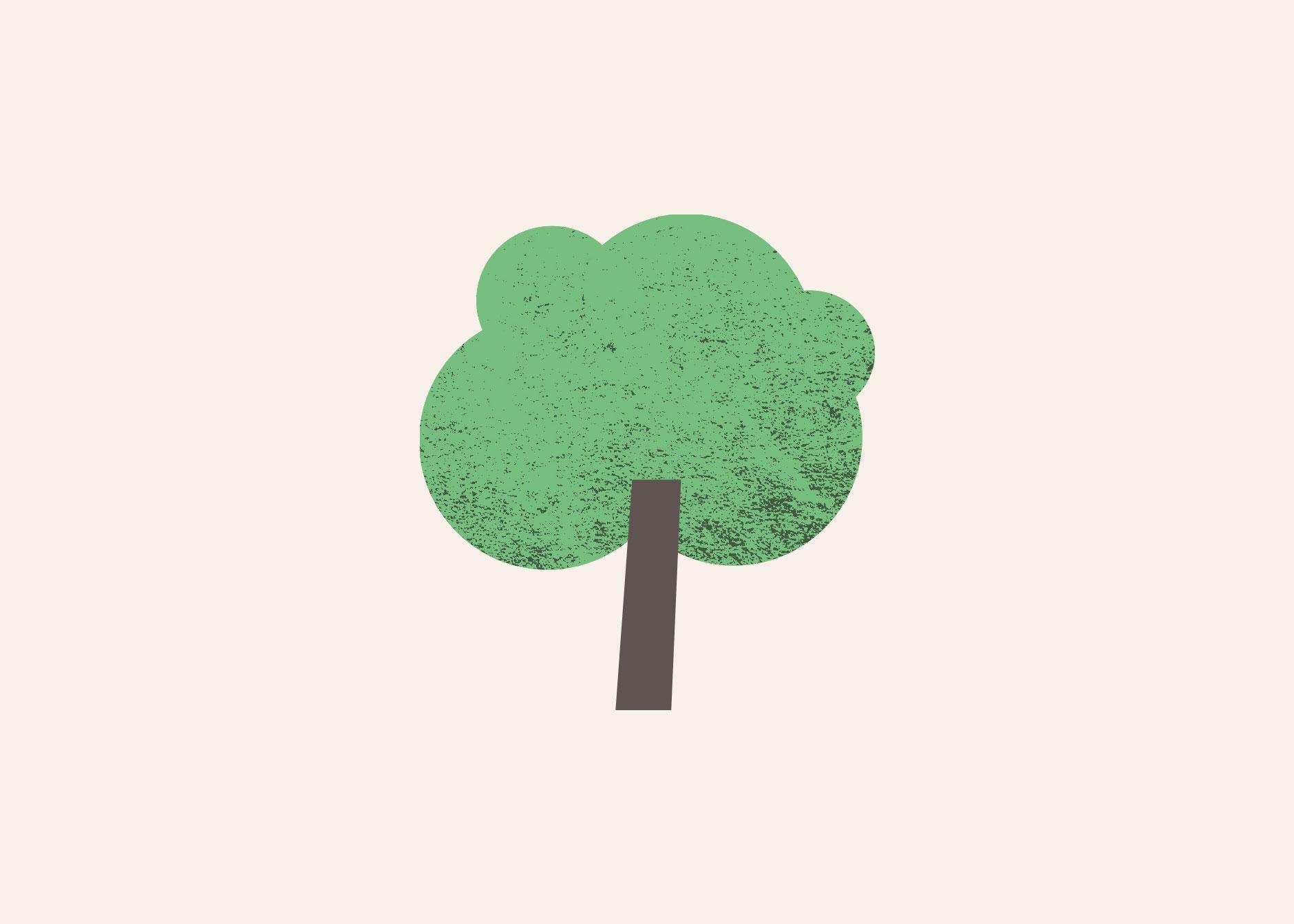 træ-ikon